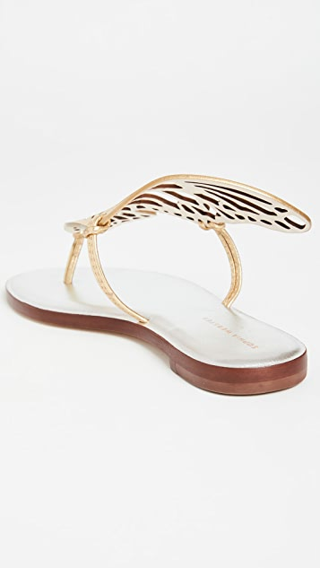 Sophia Webster Talulah 平底穆勒鞋