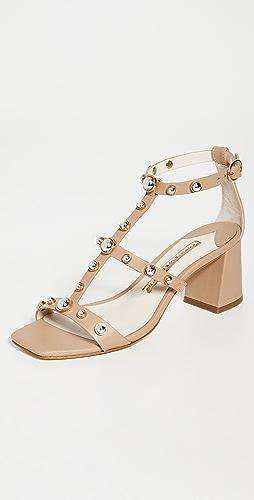 Sophia Webster - Dina Stud Mid Sandals
