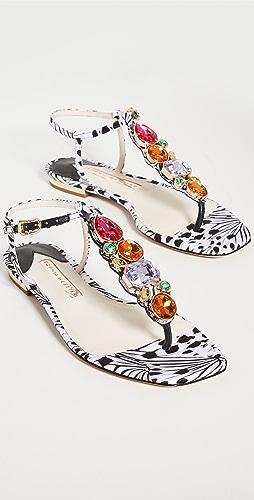 Sophia Webster - Ritzy Flat Sandals