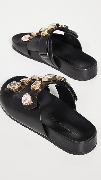 Sophia Webster Ritzy 凉拖鞋