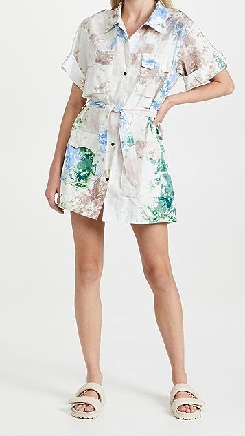 SWF Utilitarian Mini Dress