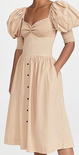 SWF - Puff Sleeve Sweetheart Dress