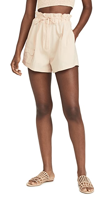 SWF Pleated Shorts
