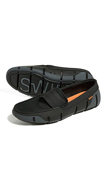 SWIMS Stride Single Band Loafers