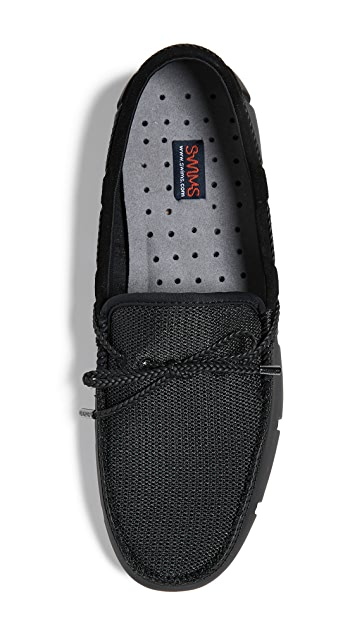 SWIMS Braided Lace Luxe Loafers