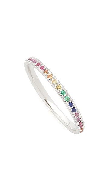 Sydney Evan Rainbow Band Ring