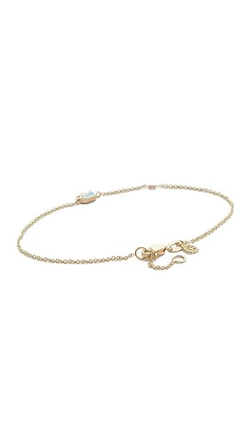Sydney Evan 14k Gold Mini Elephant Bracelet