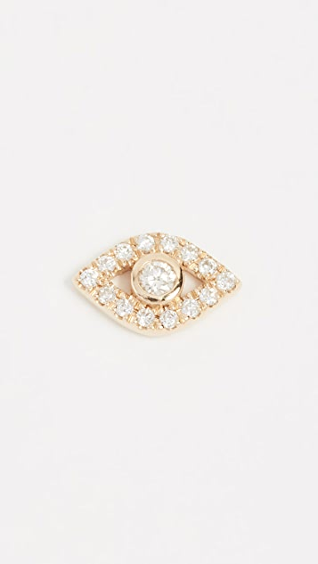 c265a6d94 Sydney Evan 14k Gold Small Evil Eye Stud | SHOPBOP