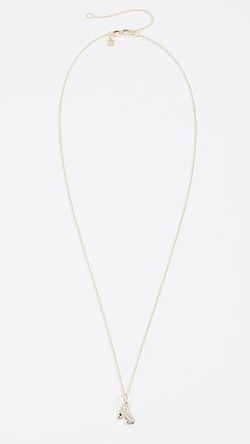 Sydney Evan Roller Skate Charm Necklace
