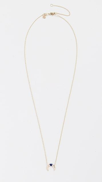 Sydney Evan 14k Gold Small Naja Necklace