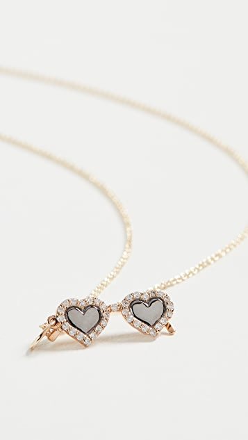 Sydney Evan 14k Heart Sunglasses Charm Necklace