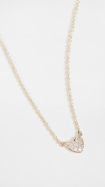 Sydney Evan Baby Heart Necklace