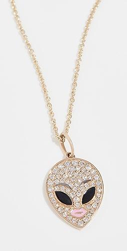 Sydney Evan - Alien Charm Necklace