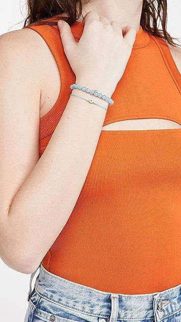 Sydney Evan Mini Enamel Evil Eye Charm Bracelet
