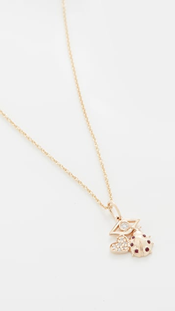 Sydney Evan Love, Protection & Luck Charm Necklace