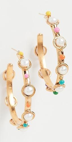 Sylvia Toledano - Petite Candy Hoop Earrings