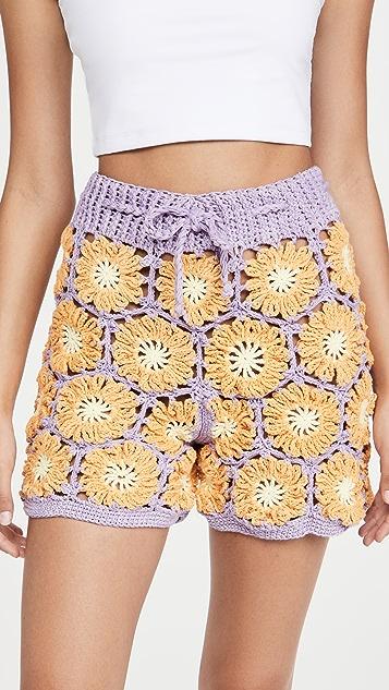 Tach 服装 Gloria 短裤