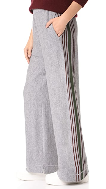 Tak. Ori Striped Pants