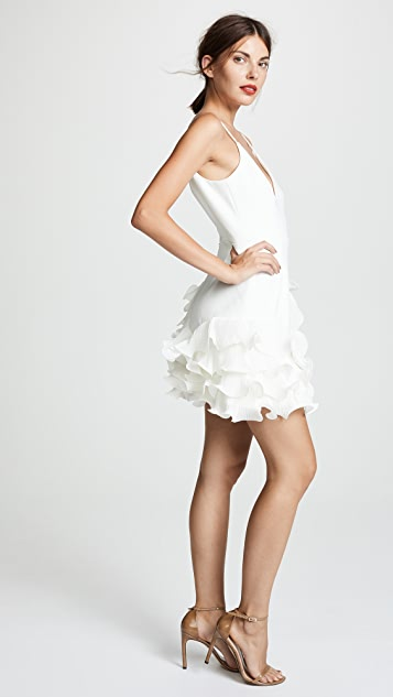 La Maison Talulah Golda Ruffle Mini Dress