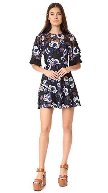 Talulah Estee Multi Lace Mini Dress