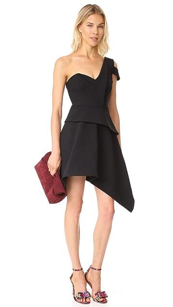 La Maison Talulah Aretha Asymmetrical Mini Dress