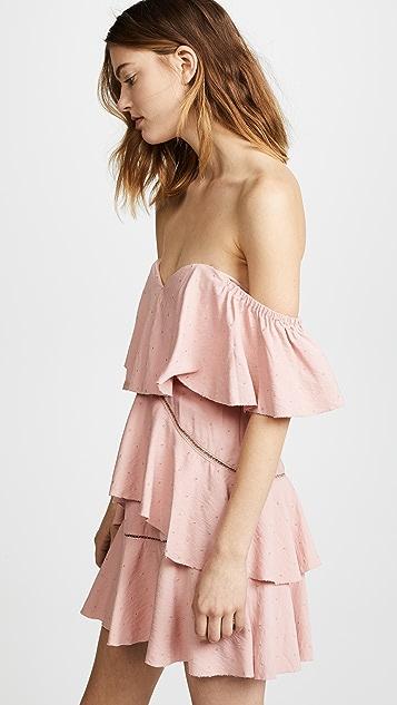 La Maison Talulah Penelope Off Shoulder Mini Dress