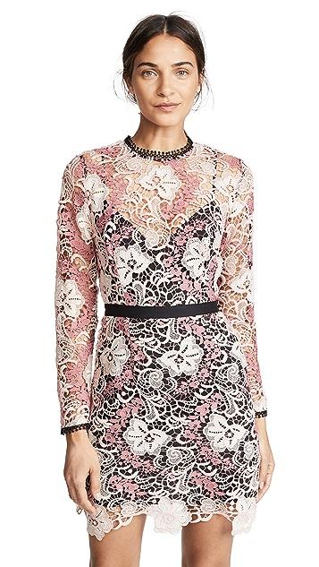 La Maison Talulah The Passion Long Sleeve Mini Dress