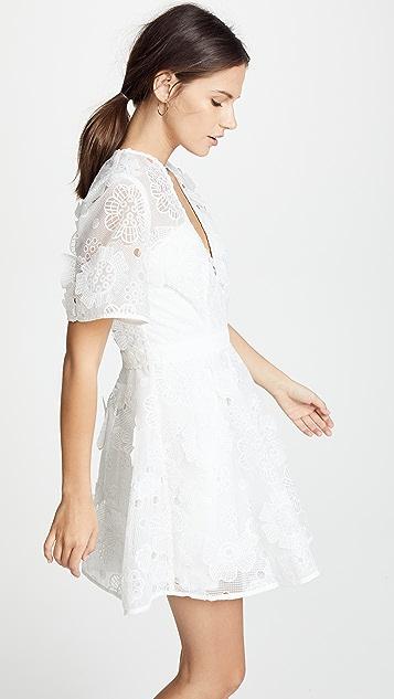 La Maison Talulah Virtous Lace Mini Dress