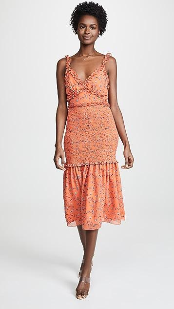 La Maison Talulah Daring Day Midi Dress