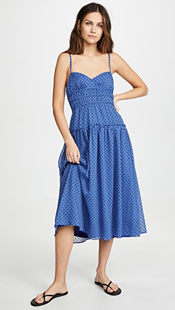 La Maison Talulah Sorrento Midi Dress - Azure