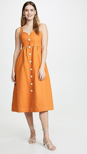 La Maison Talulah Ablaze Midi Dress