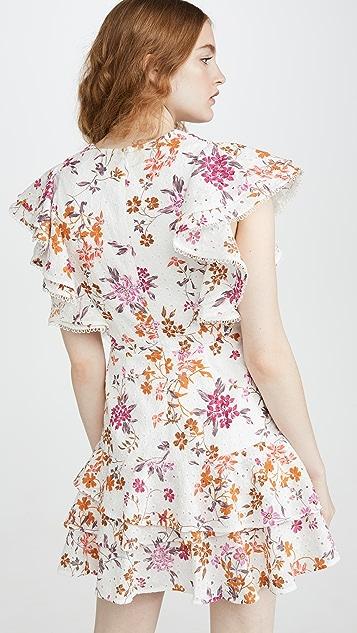 La Maison Talulah Мини-платье Jasmine Vines