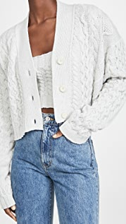 The Andamane Forget Me Not Cropped Cardigan