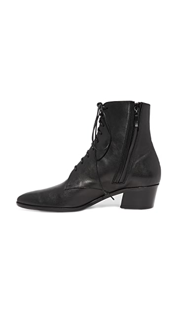 The Archive Barrow Lace Up Booties