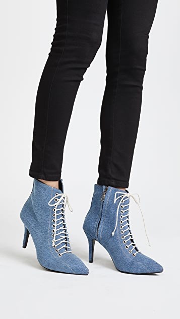 The Archive Delancey Lace Up Booties