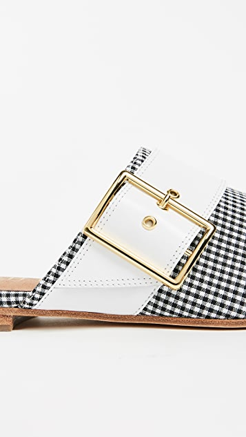 The Archive Bond Buckle Mules