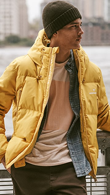 The Arrivals AER Classic Down Puffer Jacket