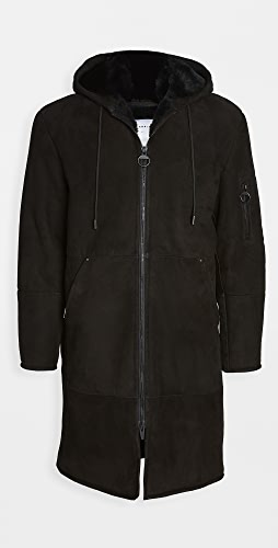 The Arrivals - Hal Man Shearling Hooded Coat