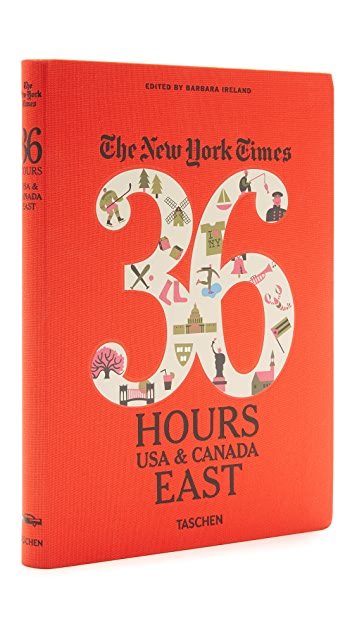 Taschen New York Times 36 Hours: East Coast
