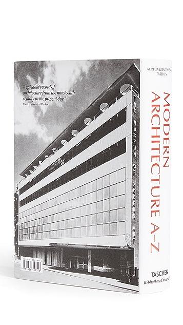 Taschen Modern Architecture A to Z