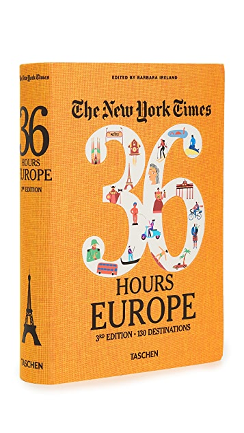 Taschen The New York Times: 36 Hours Europe, 3rd Edition