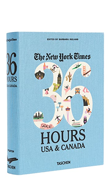 Taschen The New York Times: 36 Hours USA & Canada, 2nd Edition