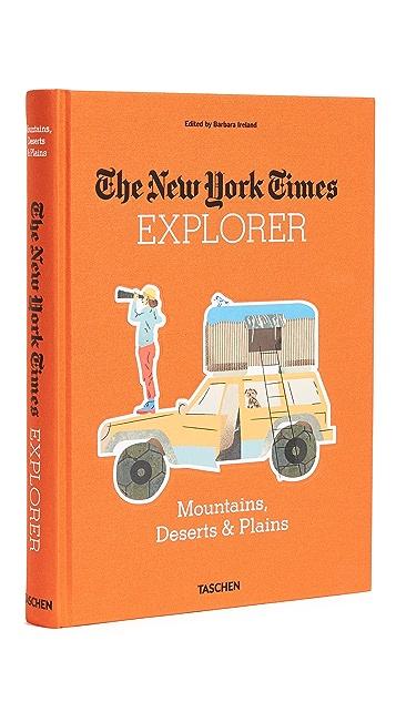 Taschen The New York Times Explorer: Mountains, Deserts & Plains