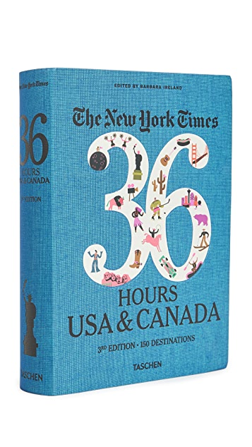 Taschen NYT 36 Hours USA & Canada