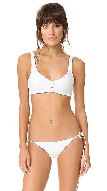 d2ffc3139a193 Tavik Swimwear Marlowe Ribbed Bikini Top | SHOPBOP