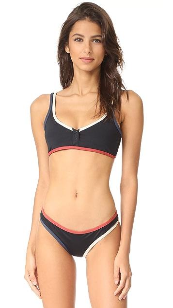 Tavik Swimwear Marlowe Colorblock Bikini Top