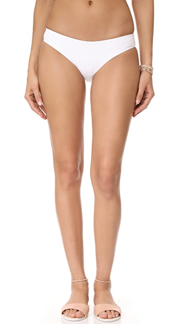 Tavik Swimwear Ali Moderate Bikini Bottoms - White