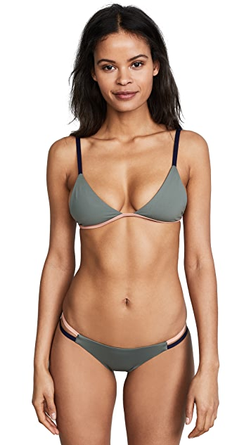 Tavik Swimwear Zepplin Triangle Bikini Top