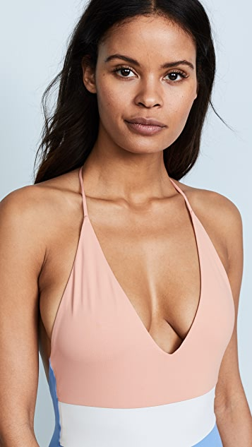 Tavik Swimwear Chase Colorblock One Piece