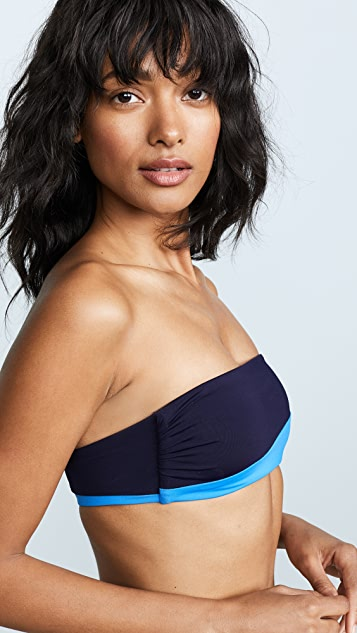 Tavik Swimwear Moon Bandeau Bikini Top